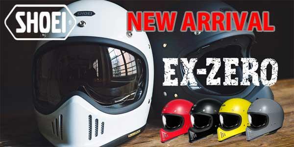 shoei ex-zero newarrival